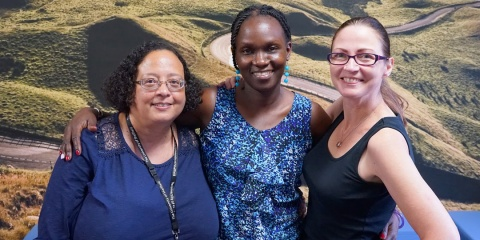 Professor Josephine Nabukenya visits University of Sheffield